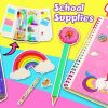 4 DIY 🦄 UNICORN【 School Supplies 】 - Back to SCHOOL | aPasos Crafts DIY