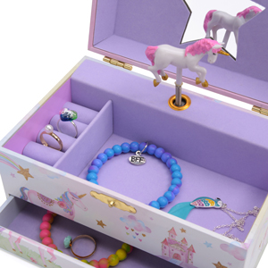 jewelkeeper jewelry box for girls unicorn gift