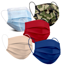 Colored Face Masks