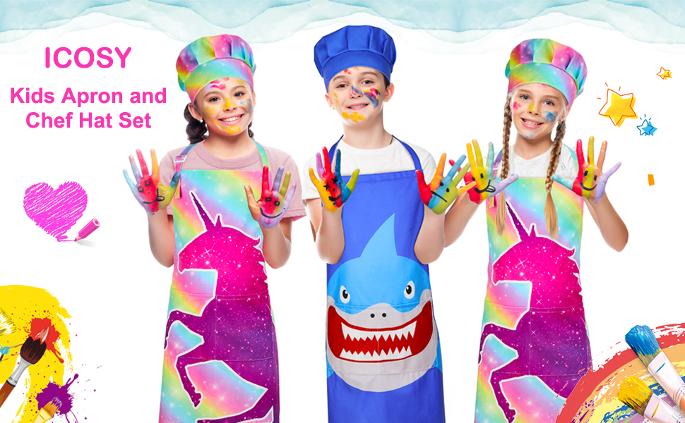 kids aprons for cooking